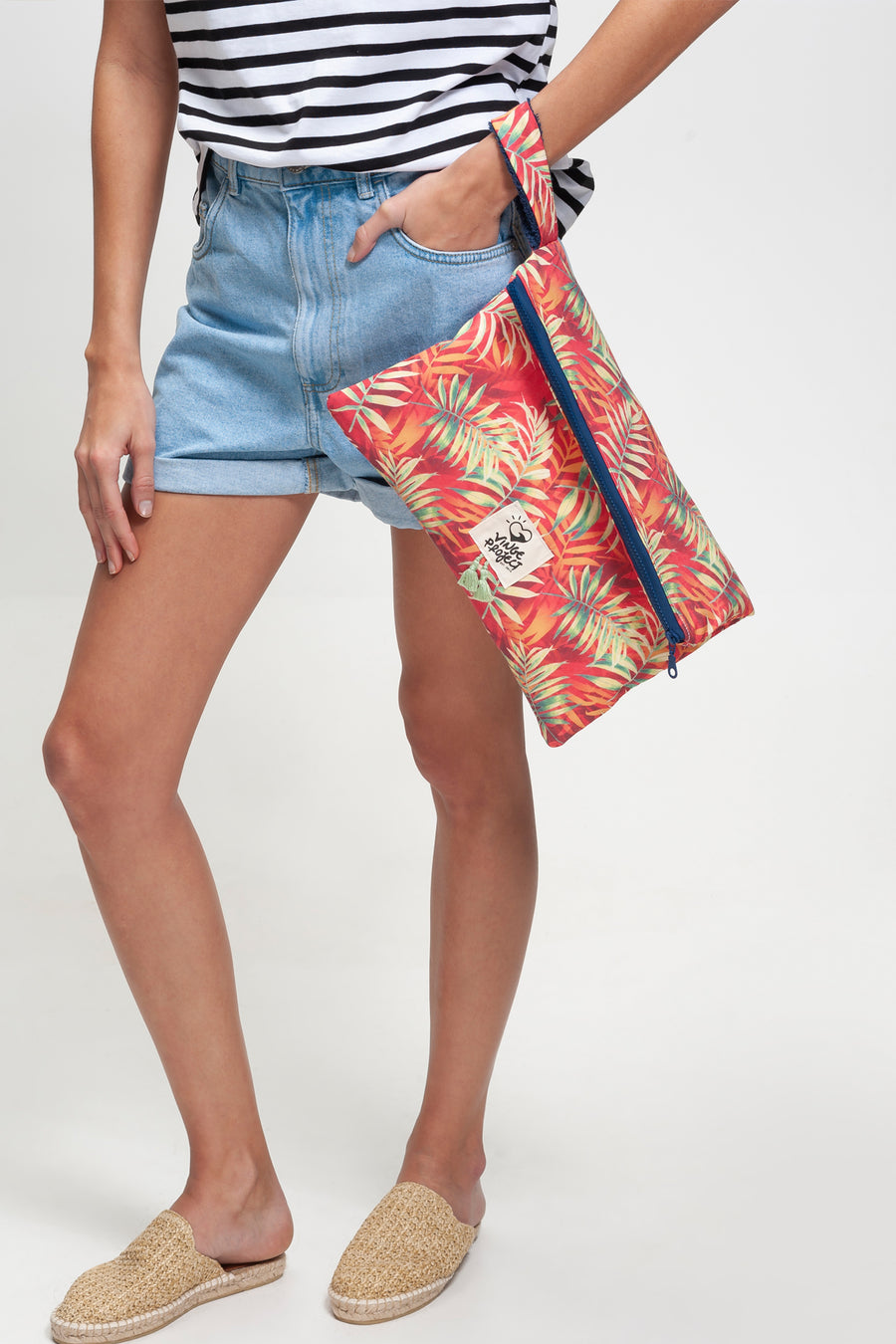 Seychelles tropical clutchbag vingeproject