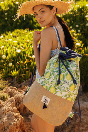 Sicily beach bag vingeproject