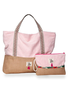 Lollipop Beach Bag & Waterproof Clutch