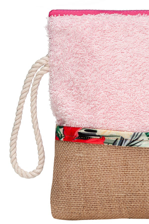 pink waterproof clutch bag vingeproject