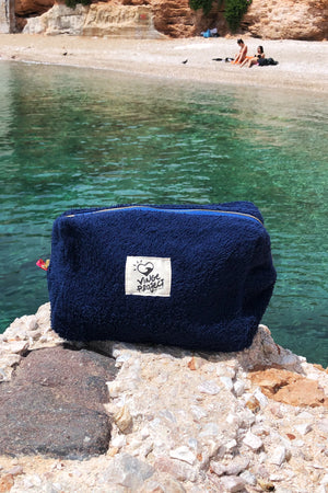 Sailor 𝐗𝐋𝐚𝐫𝐠𝐞 Waterproof Cosmetic & Travel Pouch Bag