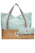 Beach Bag & Waterproof Clutch Bag Set