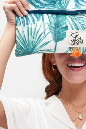 Caribbean Tropical Clutchbag vingeproject