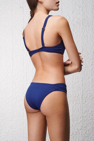 Royal Blue Balconette Bikini