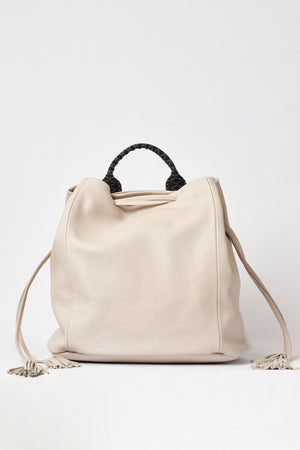 """Callie"" Backpack in Kashmere Nude"