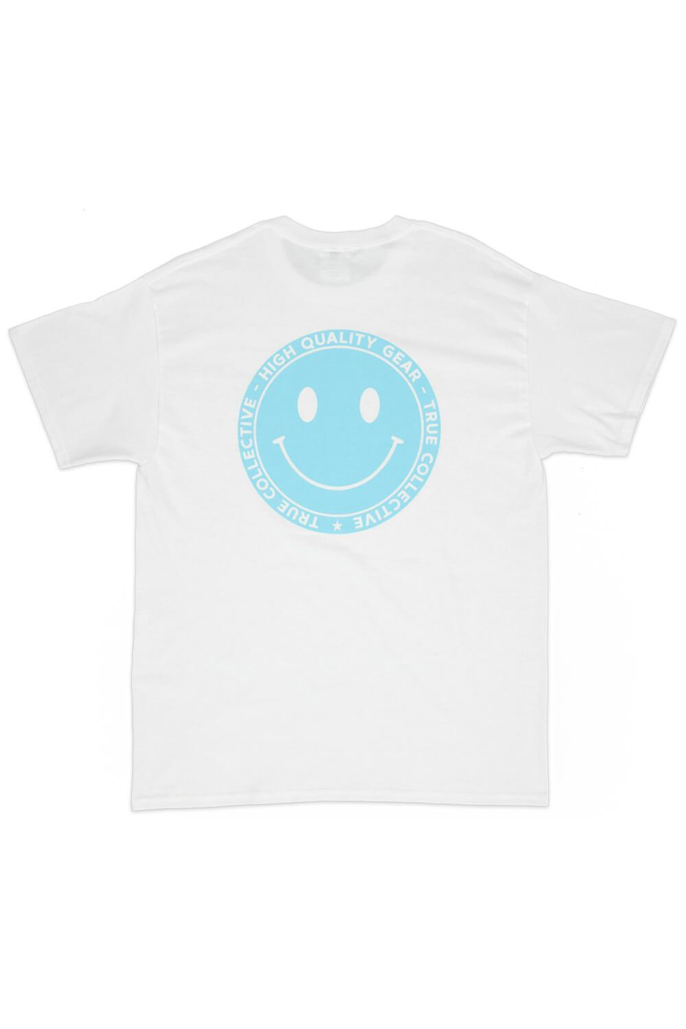 Smiley T-shirt White/Blue