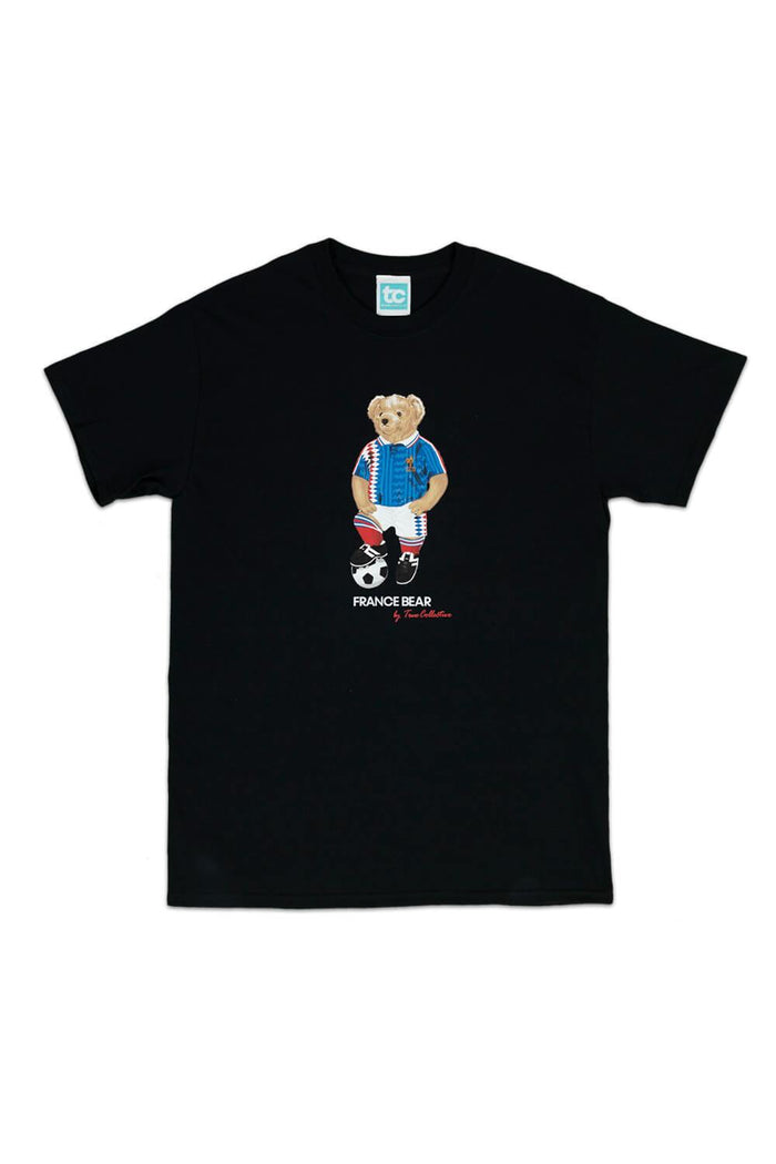 France Bear T-shirt Black