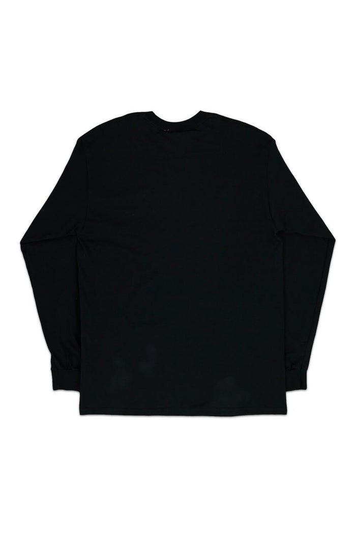 France Bear Long Sleeve T-shirt Black