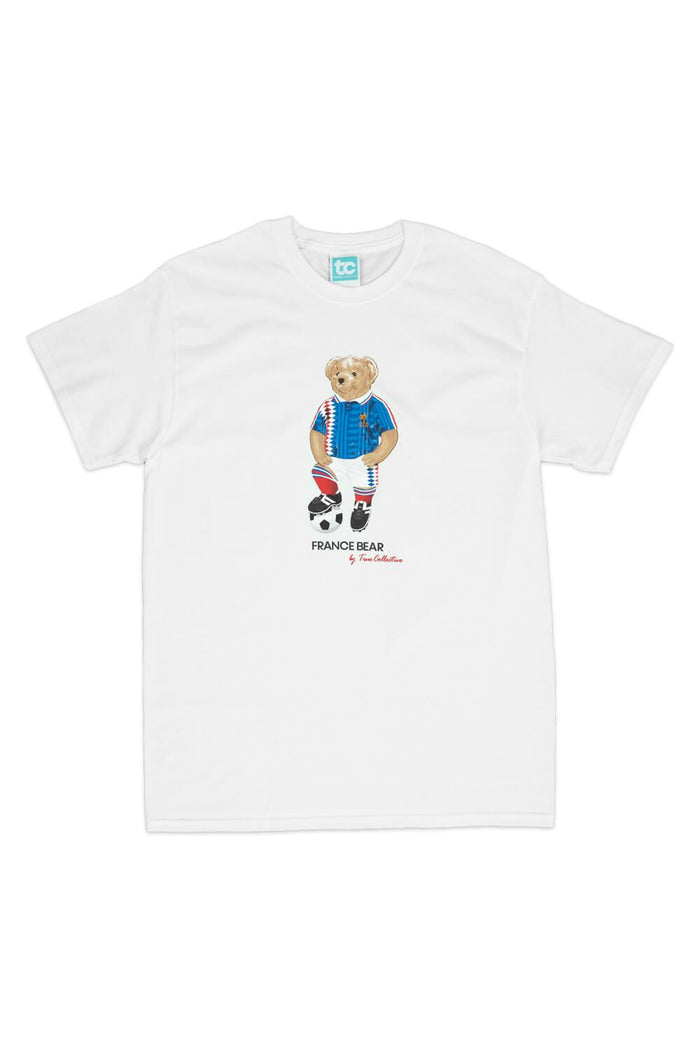 France Bear T-shirt White