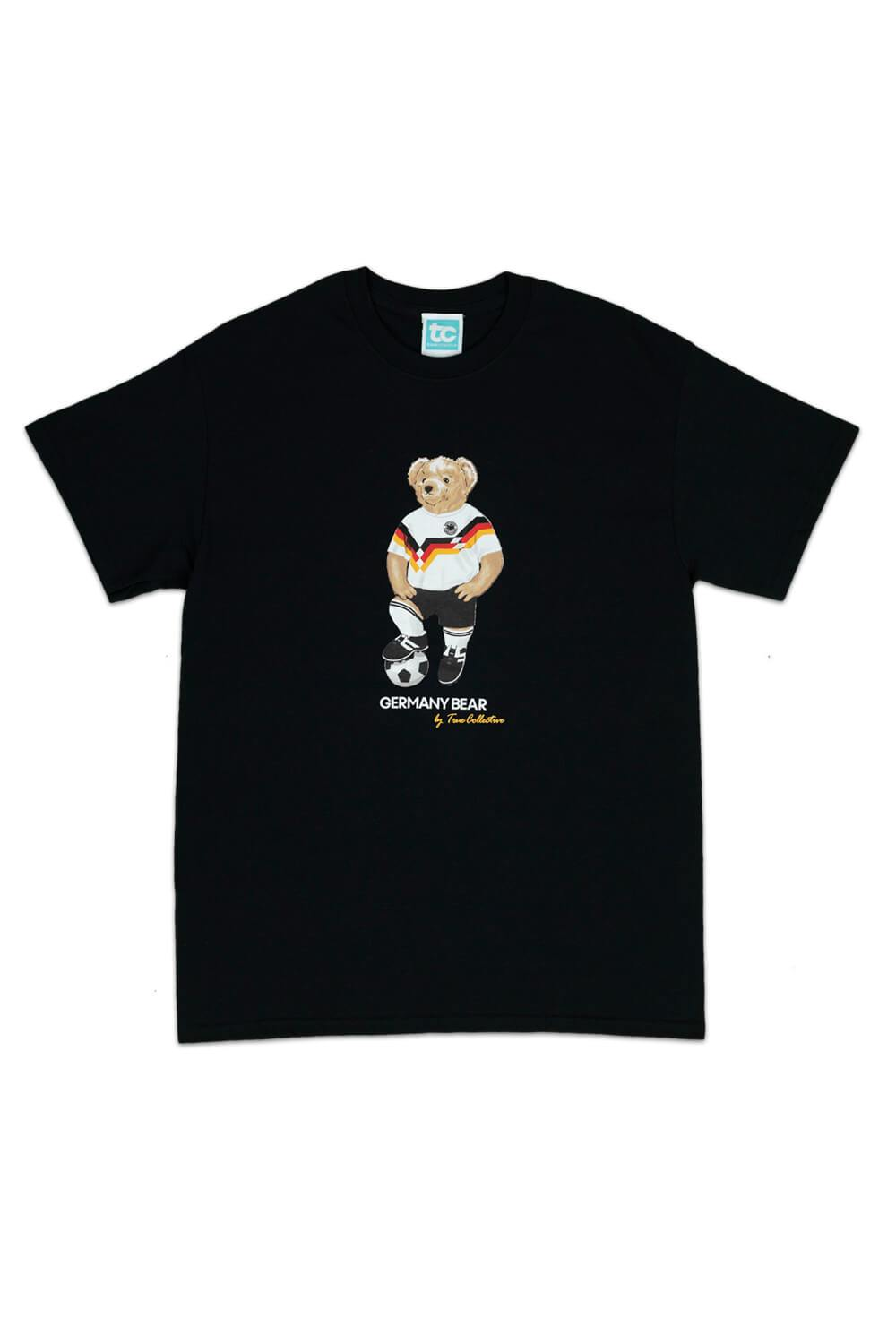 Germany Bear T-shirt Black