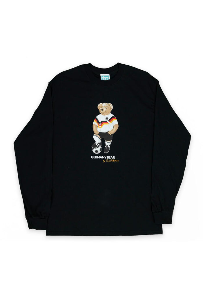 Germany Bear Long Sleeve T-shirt Black