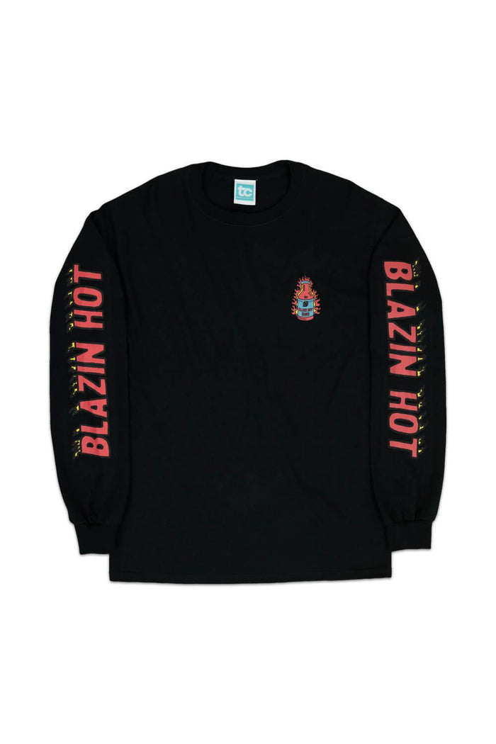 Blazin Hot Long Sleeve T-shirt Black