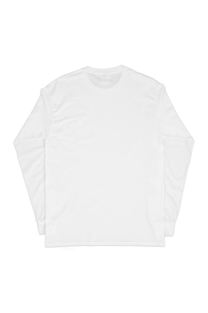 France Bear Long Sleeve T-shirt White