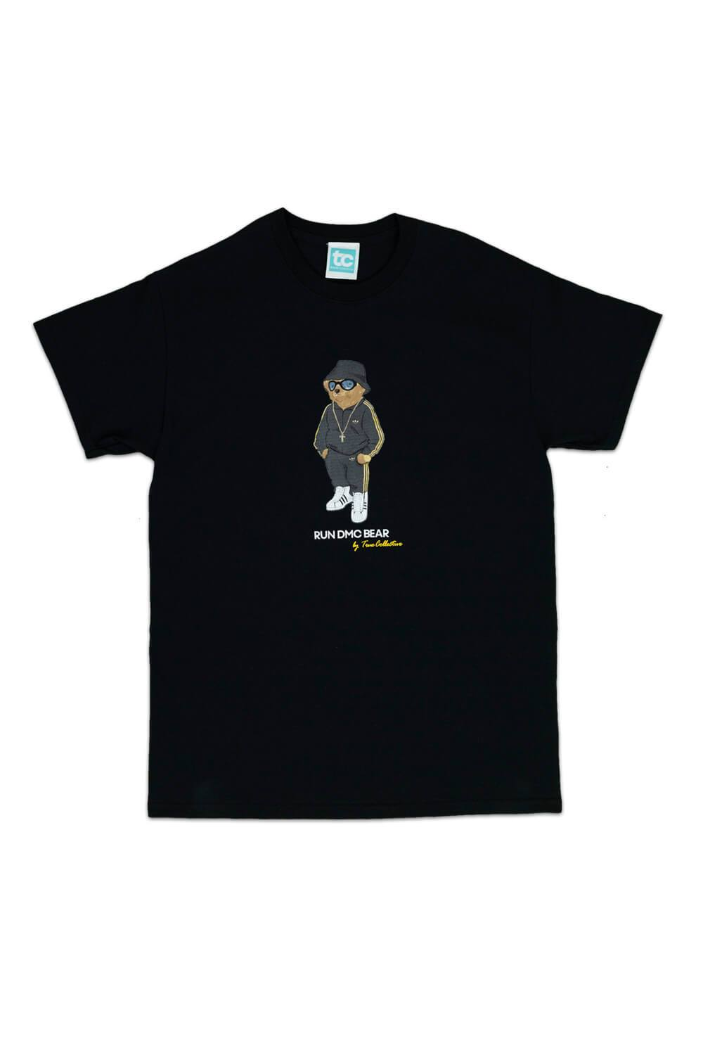 Run DMC Bear T-shirt Black