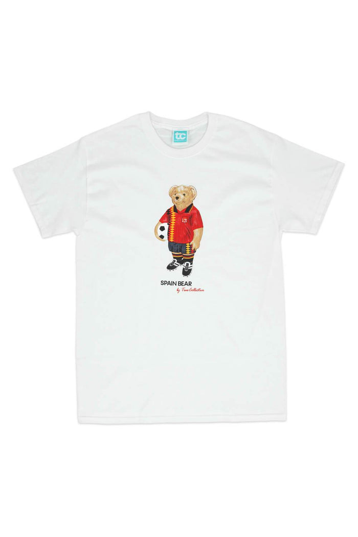 Spain Bear T-shirt White
