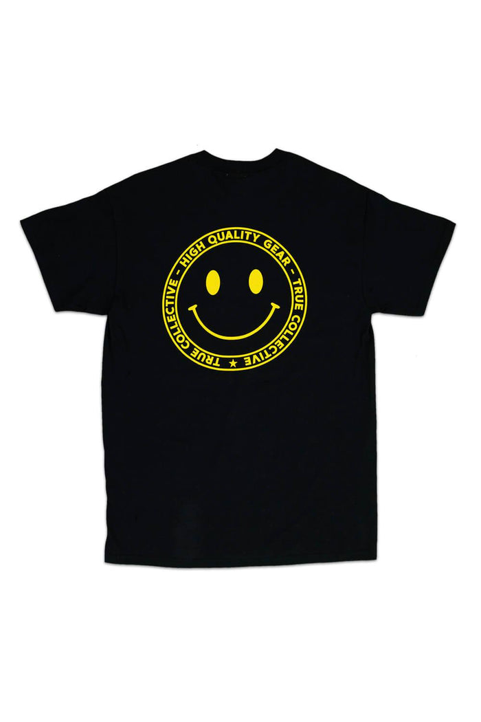 Smiley T-shirt Black/Yellow