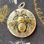 Victorian Style Honey Bee Locket