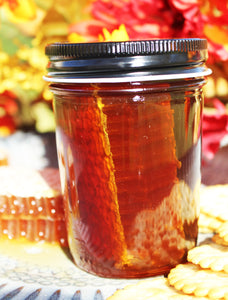 8oz Comb Honey (Chunk of Texas Honey Comb in our Local Fort Bend Honey)
