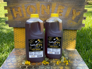 SweetNes Raw Unfiltered Local Honey 1/2 Gallon (2 Bottle Deal)