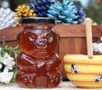 12oz Glass Raw Honey Bear