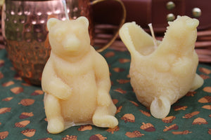 "SweetNes Honey ""Big Bear"" Candle Set (2set)"