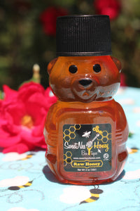 2oz Raw Honey Bear