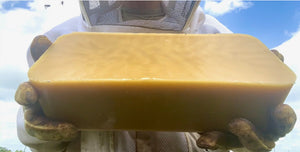 SweetNes Honey 5lb Block of Texas Beeswax