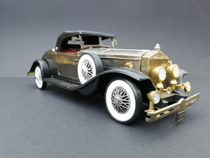 Vintage 1931 Rolls Royce Phantom II  Colour: Silver Shadow, 45 degree view