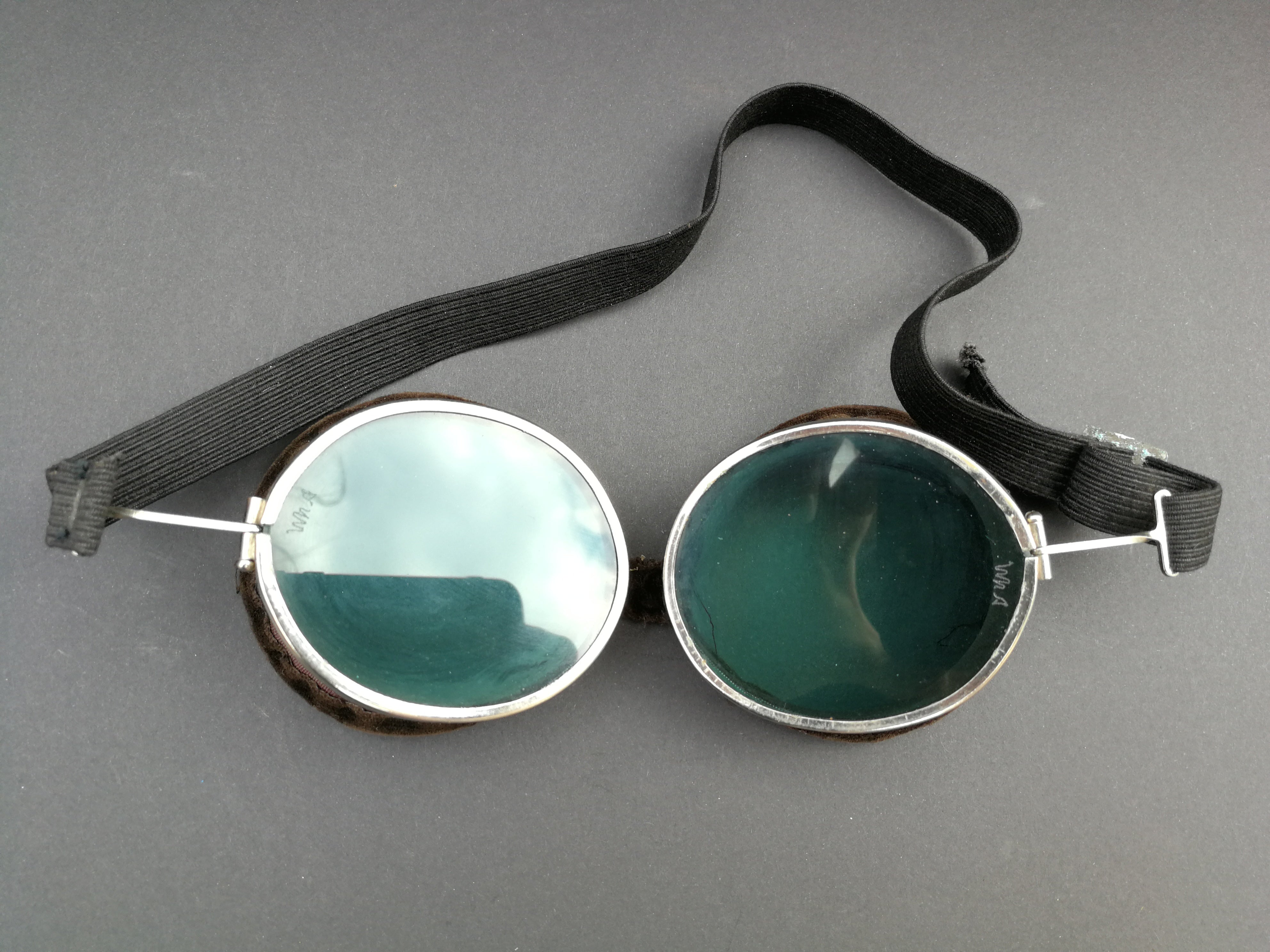 Vintage 1950's Willson Style D81 Aviator Goggles