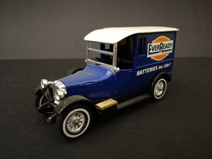 Matchbox Models of Yesteryear - Y-5 1927 Talbot, comes with box, color dark blue, 45 degree view.