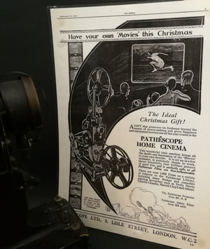 Pathescope Baby Projector view of publication November 26, 1928
