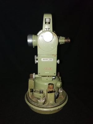 Wild T2 Heerbrugg theodolite rear view