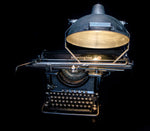 Remington 16 typewriter lamp front view