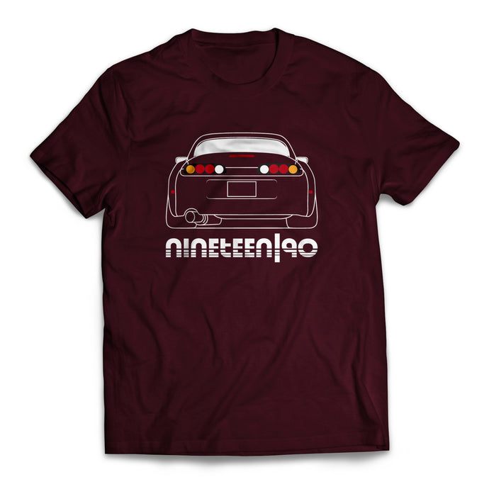 Nineteen90 MKIV JDM Legends T-Shirt Maroon
