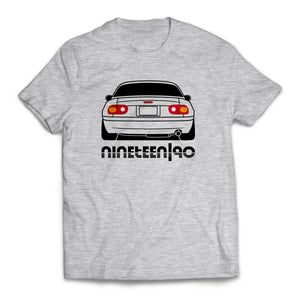 Nineteen90 MX5 Roadster Life T-Shirt Heather Gray