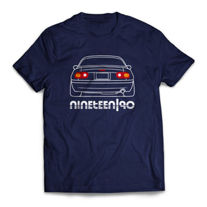 Nineteen90 MX5 Roadster Life T-Shirt Navy
