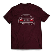 Nineteen90 M Coupe Euro Legends T-Shirt Maroon