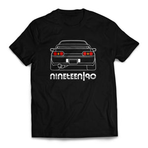 Nineteen90 R32 JDM Legends T-Shirt Black
