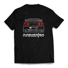 Nineteen90 R34 JDM Legends T-Shirt Black