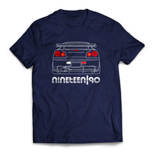 Nineteen90 R34 JDM Legends T-Shirt Navy