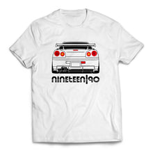 Nineteen90 R34 JDM Legends T-Shirt White