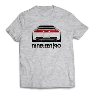 Nineteen90 Type-R JDM Legends T-Shirt Heather Grey