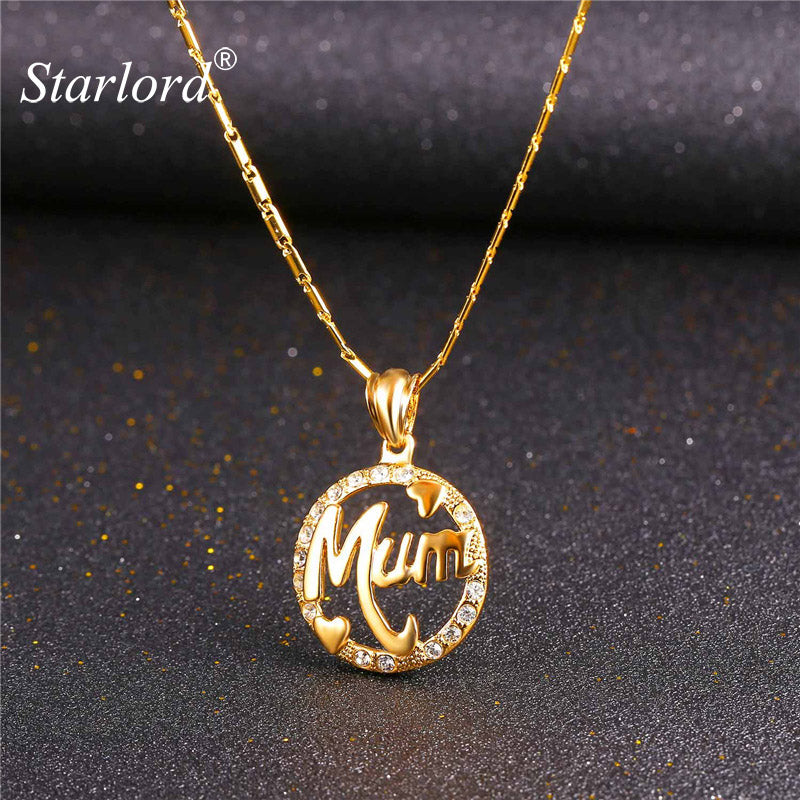Mum Letter Jewelry For Mother