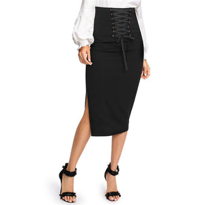 Black Elegant Skirt