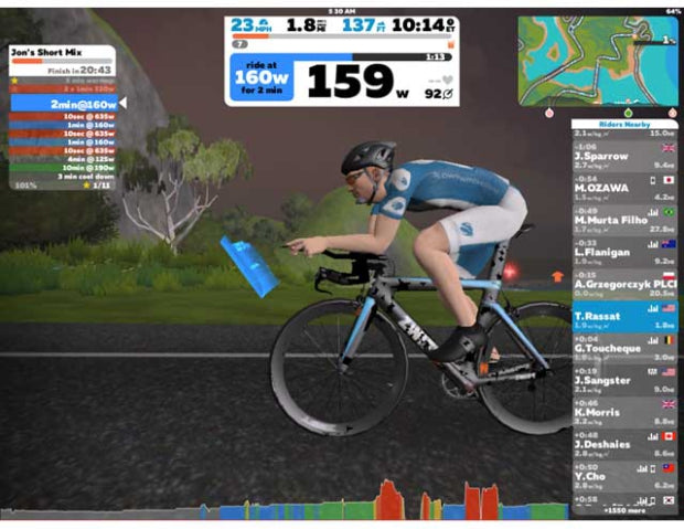5 Great Zwift Workouts to Improve your Fitness