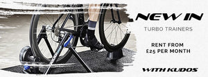 Turbo Trainers, What, Why and How? Available to Hire from Kudos Wheels