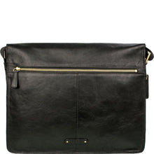 Aiden 01 Leather Messenger Bag (Brown Black or Tan) - Classic Bags