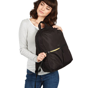 Berlin Slimline Ladies Backpack (Black or Nautical Blue) - Classic Bags