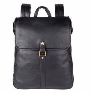 Brosnan Ladies Leather Backpack (Black or Brown) - Classic Bags