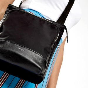 Carrington Ladies Cross Body Bag (Black) - Classic Bags